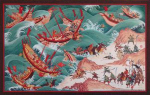 Mongol Invasion to Island Country by HappyMorningStar