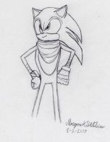 Sonic the Hedgehog (Sonic Boom) sketch by Maverick-Werewolf