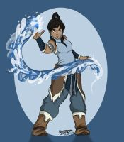 The Legend of Korra by lizzie9009