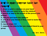 How to Make Someone Taste Rainbow by WhiteBleedingFox