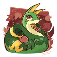 Serious Serperior by DoNotDelete
