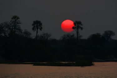 Zambezi sunset 1 by wildplaces