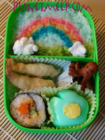 Rainbow Bento by PlanetMeep
