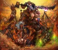 Warlords of Draenor by itzaspace