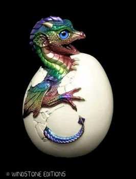 Hatching Dragon sculpture by Reptangle