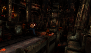 MMD Stage Silent Hill  Ritual Room DL by Clonesaiga