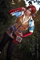 Triss Merigold by Shermie-Cosplay