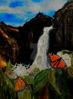 Monarchs on Milkweed Creatures  of Light 4 by Yosemite-Stories
