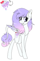 My 2nd Main MLP OC by GalaxySwirlsYT