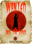 'Jack The Ripper' Wanted Poster by surreal1st1cp1llow