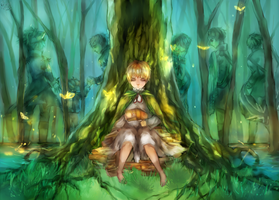 [APH England] I went into the woods by Fenrin-kun