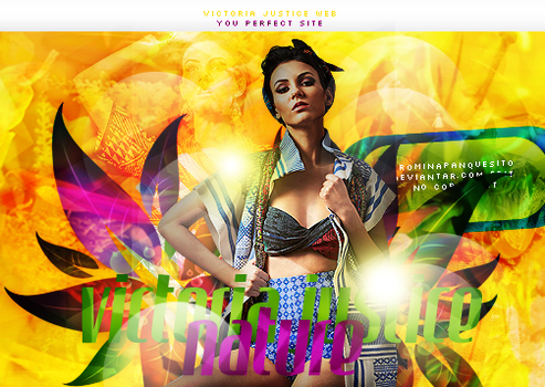 Nature.Victoria Justice by Romina-panquesito