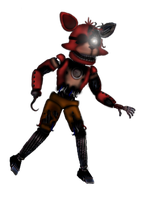 Funtime Withered Foxy by cihlen
