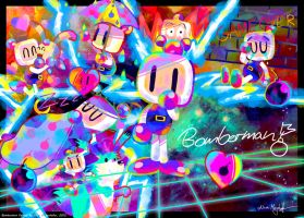 A Day with Bomberman by MissNeens