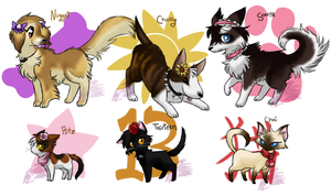 Nintendogs + Cats by MahoxyShoujo