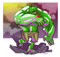 the hulk by TOTOPO