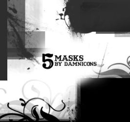 More Mask Brushes by Sarah-Dipity