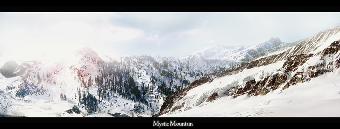 Mystic Mountain by Astronomix