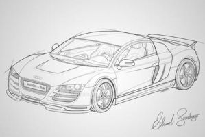 Audi R8 Vector by Dragonis0