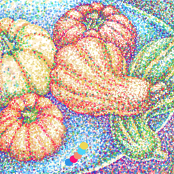 Pumpkins To A Point-Color Palette Challenge Day 13 by digit-Ds