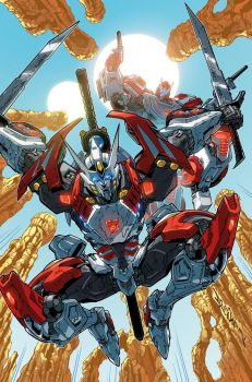 TF Drift Empire of Stone issue 02 cover by markerguru