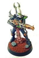 Dark Eldar Kabalite by Pyreshard