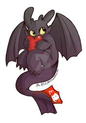 Toothless by GGArtandDrawing