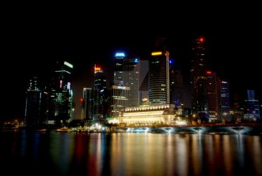 Singapore Nightscape 02 by augustinesoong