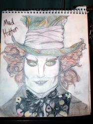 Mad Hatter by mangalover101