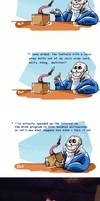 Undertale ask blog: In which Sans creates KWT by neonUFO