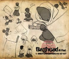 Baghead Character Sheet by Sketchfighter316