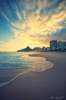 Rio at Sunset by IsacGoulart