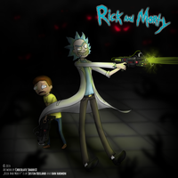 Rick and Morty by ChocolateShaddiX
