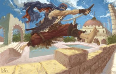 Prince of Persia by ZEBES
