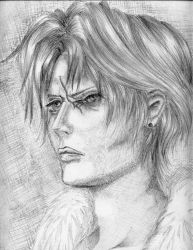 Squall Leonhart - FF VIII by Valesco