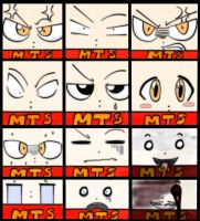 faces of mts :3 by teresastrawberry