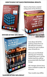 Photoshop Product Actions by JuedM