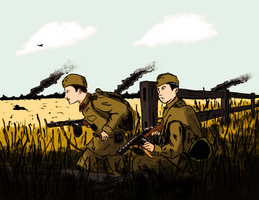 Soviets (Colored) by Marpaparp
