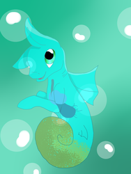 NEW Seahorse Jelly Baby batch by Darumemay
