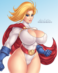 POWER GIRL by Ange1Witch