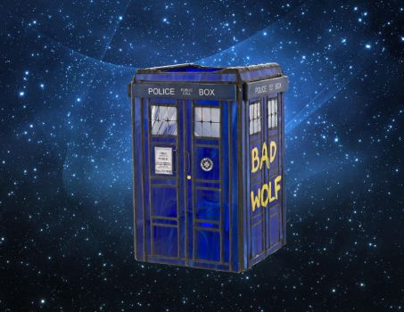 Tardis, Doctor Who by toroj