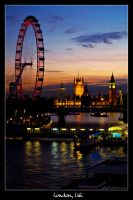 London, UK by Frall