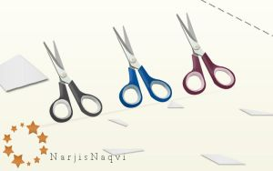 Scissors set by NarjisNaqvi