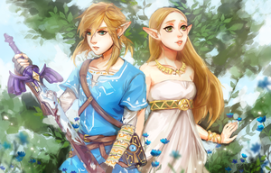 Breath of the Wild by Ariuemi