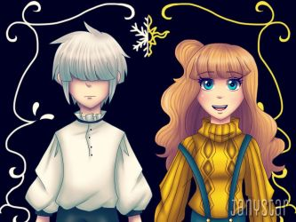 Neve and Sunny by Jany-chan17
