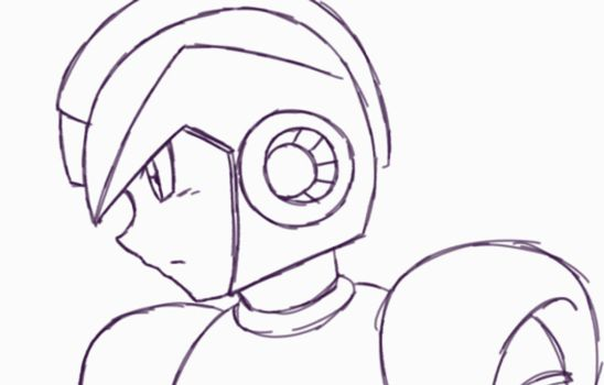 Megaman X (ClipStudio Paint Animation Test) by innovator123