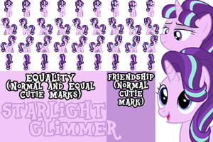MLP RPG Sprites (Starlight Glimmer - 3 Versions) by KillerMareGaming