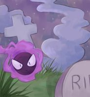 Graveyard by Amphany