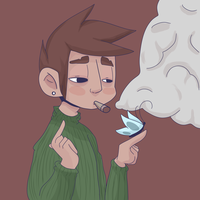 ~Criticism?~ Smoke Break by Omocup
