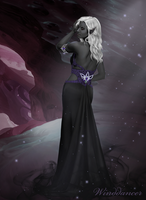 Drow wizardess by xXwinddancerXx